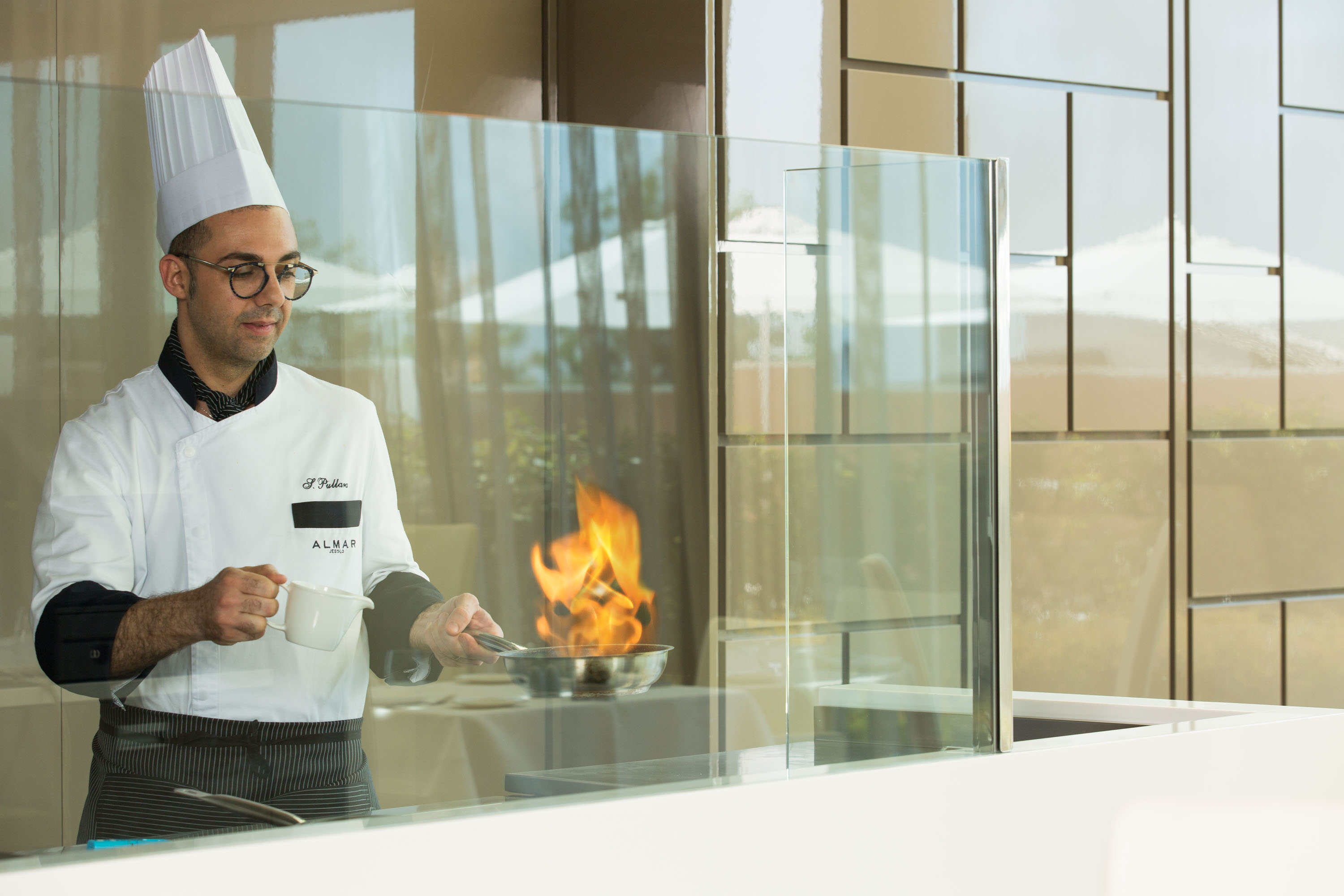 Live cooking show a ötcsillagos Resort & Spa Almar Jesolo