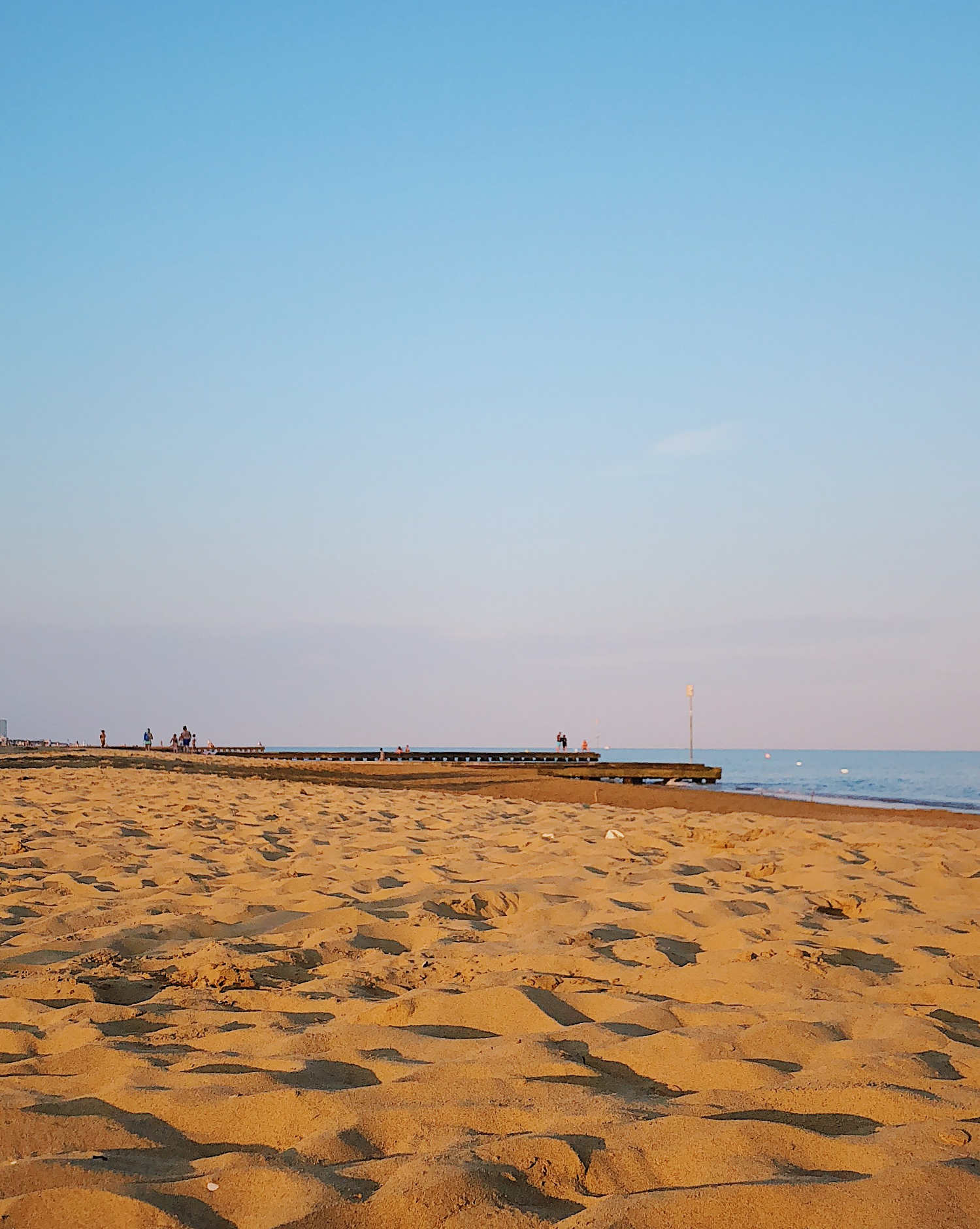 Activities by the sea in Lido di Jesolo