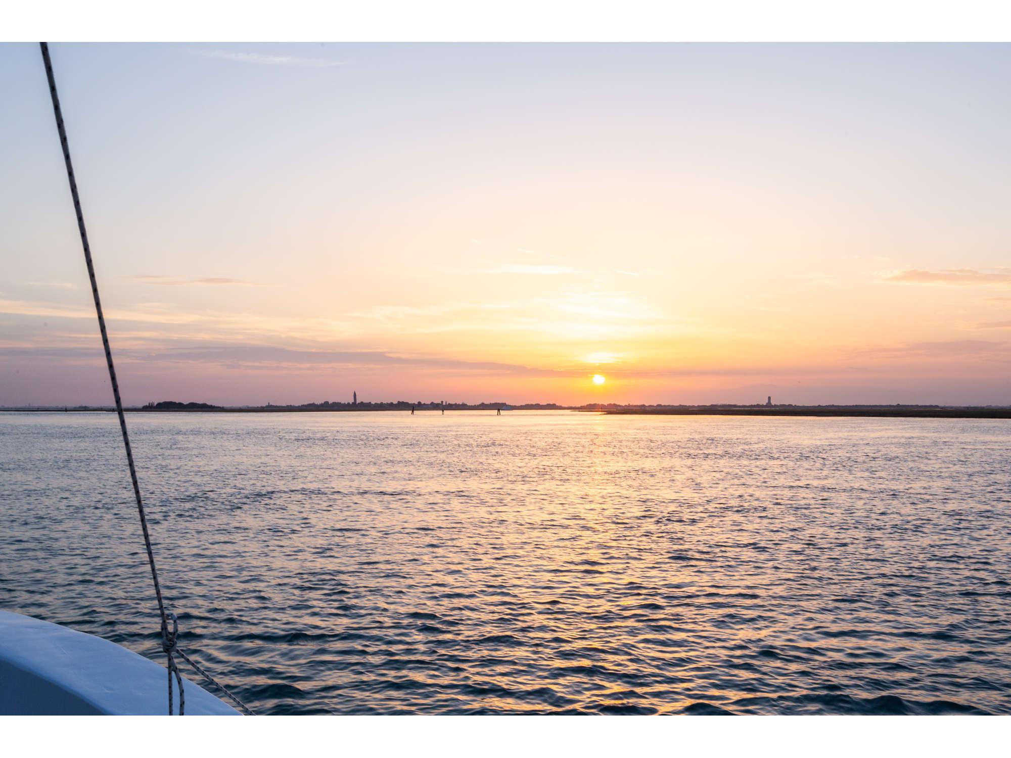 Venice-lagoon-at-sunset