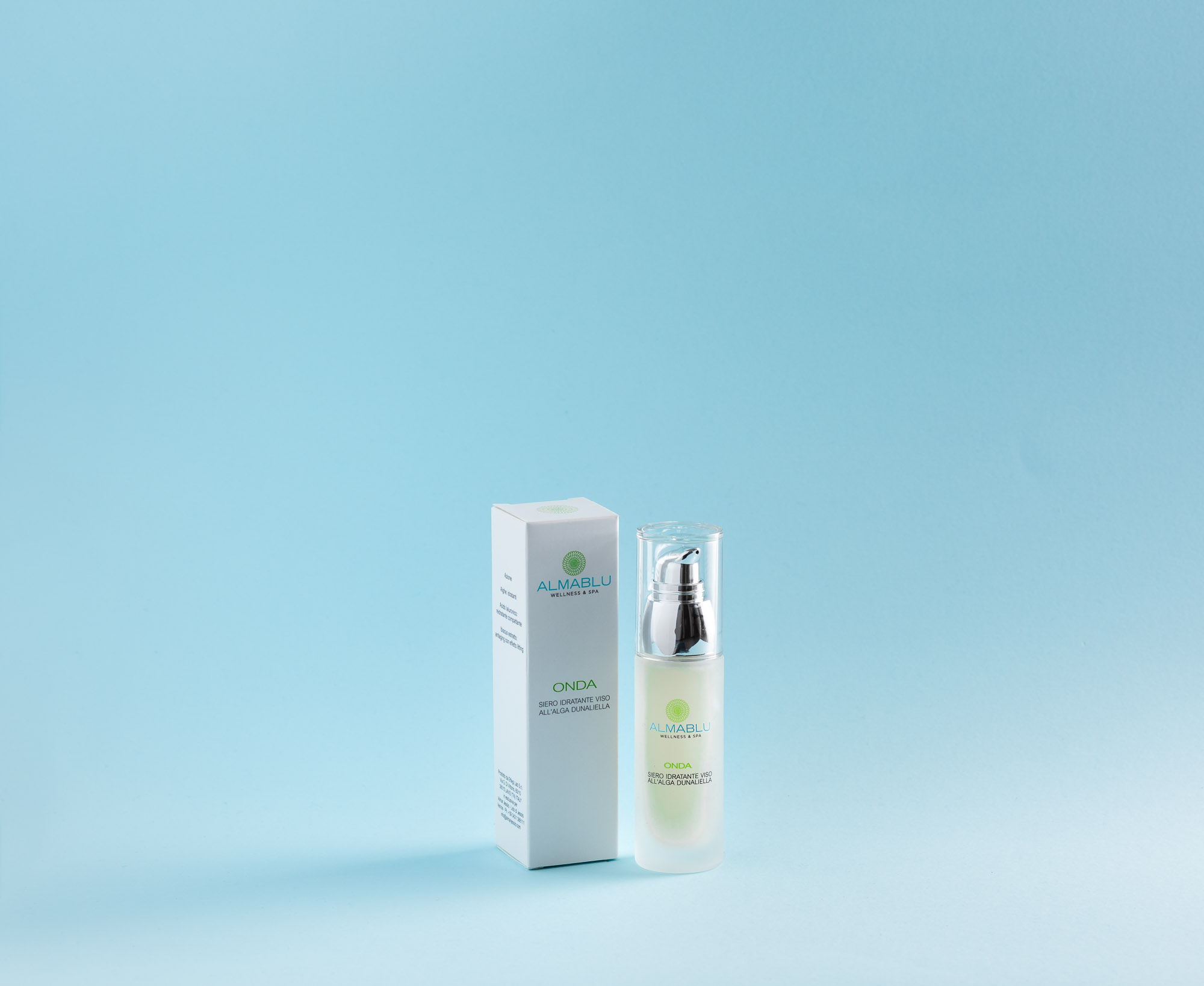 Almablu Onda: an effective lifting serum with a strong moisturizing and regenerating action