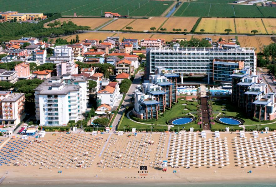 Almar Jesolo Press view from the sea lusso mare e wellness