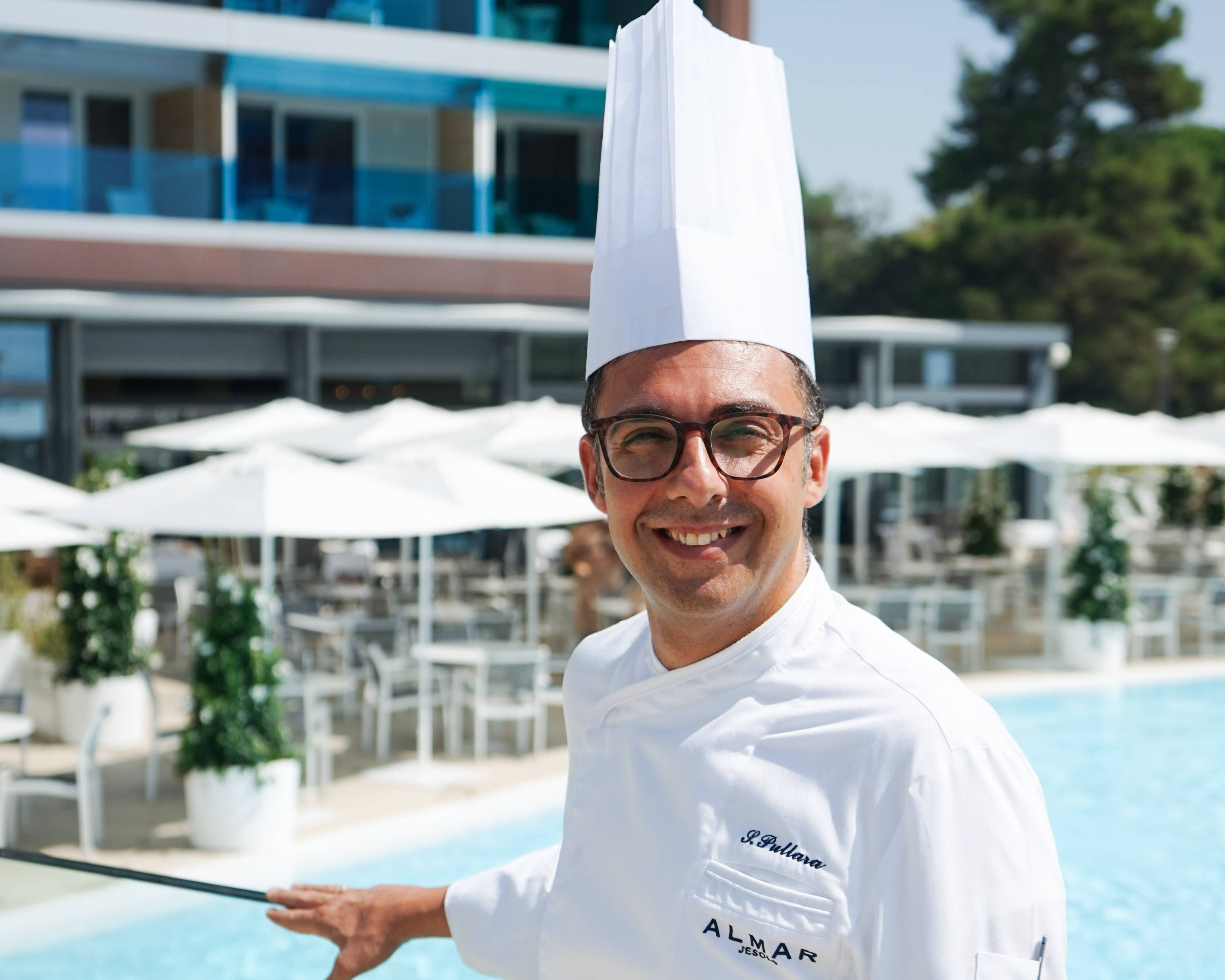 Salvatore Pullara Chef Mediterra Restaurant Almar Jesolo Resort & Spa