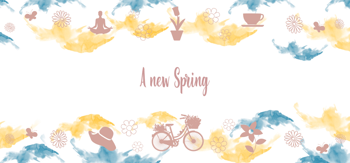 A new Spring is the new wellness package dedicated to Springtime