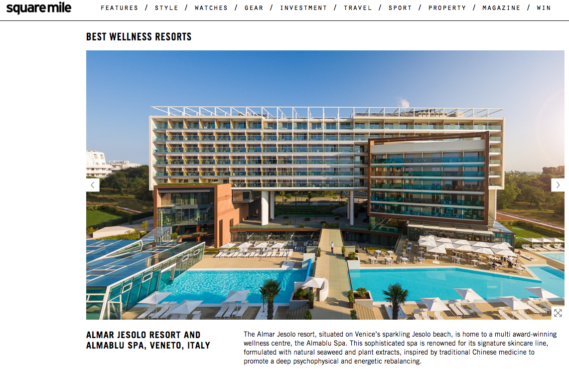 Almar Jesolo between the Best Wellness Resorts