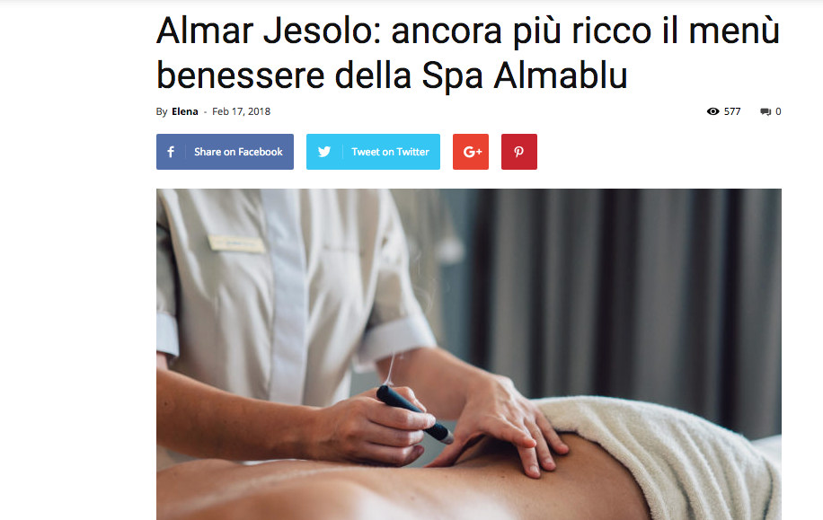 GIST - news Almar Jesolo Resort & Spa