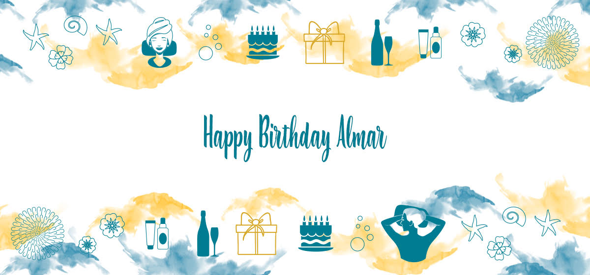 Celebrate with our Happy Birthday Almar: several included services and a reduction up to 20%