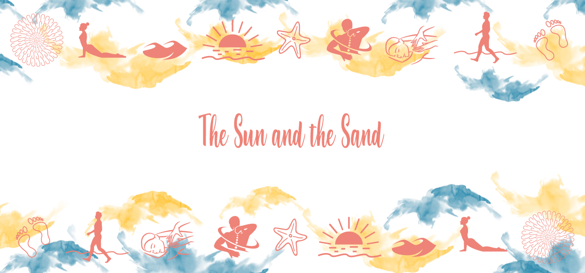 The Sun and the Sand special package is aimed to restore your back and joints in order to reach a health posture