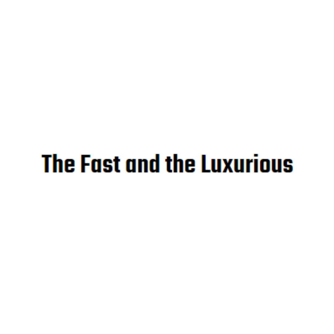 The Fast and the Luxurious Von Jessica Bachmann
